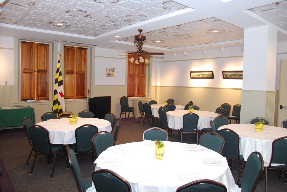 Banquet setup - west